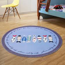 decorative floor mats home round rug home decorative cute protective floor mat pictographic