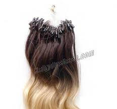 micro ring extensions 16 inch ombre wave micro loop hair extensions two tone 100s