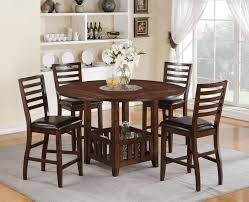 Dining Table Set Espresso Dining Tables 5 Piece Counter Height Dining Set Espresso Counter