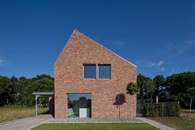 modern brick house riel estate joris verhoeven architectuur archdaily