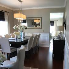 Wainscoting Dining Room Diy Faux Wainscoting Frills U0026 Drills