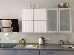 white and gray kitchen ikea herrestad veddinge interior