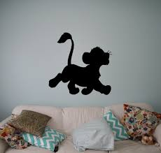 lion king simba vinyl decal disney wall vinyl stickers home