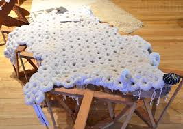 recycled textile polar bear rug by fabrica inhabitat u2013 green