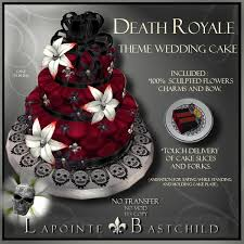 skull wedding cakes second marketplace sculpted cake royale blood