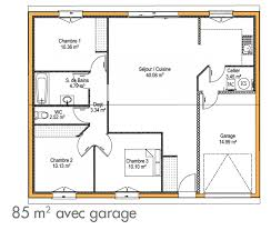 plan maison simple 3 chambres cuisine construction de maison simple immo construction plan