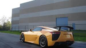 lexus lfa buy usa first lexus lfa with nurburgring package arrives in europe