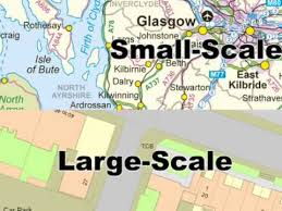 map scales find out what large and small scale on maps