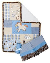 amazon com trend lab 3 piece crib bedding set cowboy baby baby