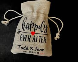burlap party favor bags customized party supplies for all occasions by partyridge on etsy