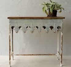 Shabby Chic Console Table 6 Shabby Chic Narrow Console Tables For Your Home Antique Farmhouse