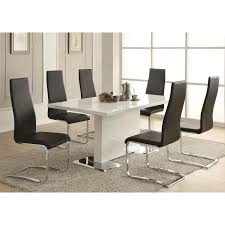 dining room 7 piece sets furniture fill your dining room with cool coaster dining table