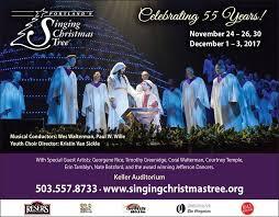 portland u0027s singing christmas tree home facebook