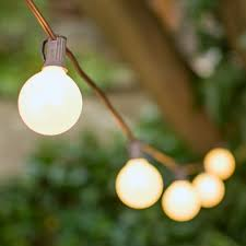 globe string lights brown wire globe string lights 2 inch e12 bulbs 100 foot brown wire c7 strand pearl