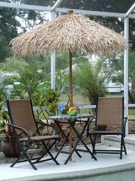 Tiki Patio Umbrella Bamboo Pole With Wide Enough Diameter To Fit Umbrella Pole In
