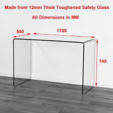 Glas Desk All Glass Desk Furniture Fetching Glass Top Office Computer Desk