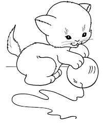 cats coloring pages for girls to print free and paint