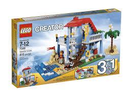 amazon com lego creator 7346 seaside house toys u0026 games
