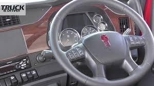 kenworth truck interior kenworth t610 youtube