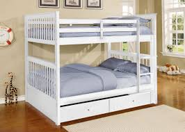 Harriet Bee Vicky Full Over Full Bunk Bed With Trundle  Reviews - Room and board bunk bed