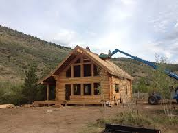 uinta log home builders utah log cabin kits 1 000 to 1 500 sq ft