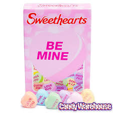 sweethearts candy sweethearts tiny conversation candy hearts packs modern flavors