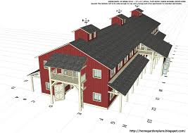 house plan barn floor plans pole barn with lean to pole barn