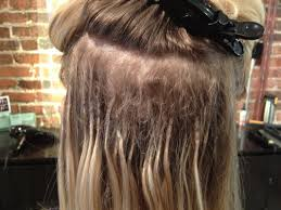 glue in extensions how to apply hair extensions
