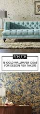 15 Chic Gold Wallpapers Best Ideas For Metallic Gold Wallpaper