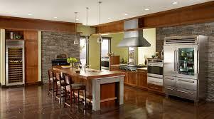 kitchen rustic subzero wolf kitchen appliances design contest