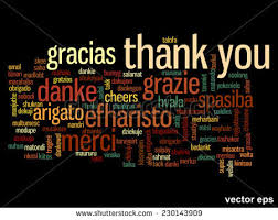 thank you in different languages immagini stock immagini e