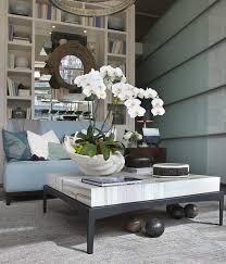 furniture orchid coffee table centerpiece strange clam shell orchid arrangement decor pinterest clam shells