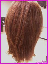 hairstyles with layered in back and longer on sides long layered bob haircuts back view livesstar com
