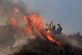 California Wildfires Colorado by California Casitas Fire In Ventura County Burns 50 Acres