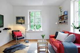 Living Room With Red Furniture Interior Design Dream Small Apartment Living Traditionz Us