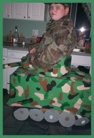 Army Soldier Halloween Costume Homemade Tank Costume Homemade Halloween Costumes