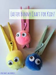 easter clothespin bunny kids u0027 craft easter bunny and art activities