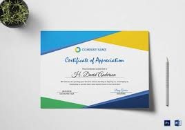 19 certificate of appreciation templates u2013 free samples