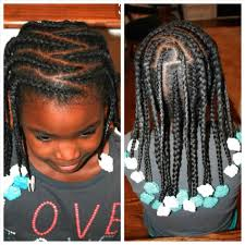 african american kids braided in mohawk advanced braided hairstyles for little girls african american
