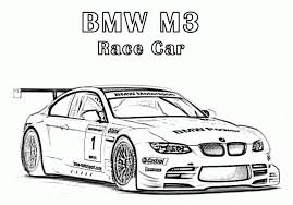 bmw m3 race car coloring pages free cars coloring pages
