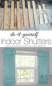 Shutter Blinds Diy Best 25 Diy Shutters Ideas On Pinterest Diy Exterior Wood