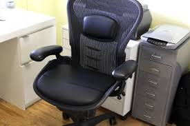can the aeron chair be improved with seat cushions design milk