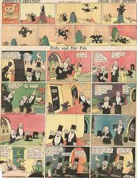 comic strips cliff sterrett u0027s polly and her pals