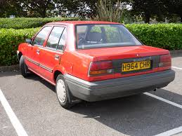 nissan sunny 1990 modified 1991 nissan sunny n13 1 4 ls saloon odd this is one of th u2026 flickr