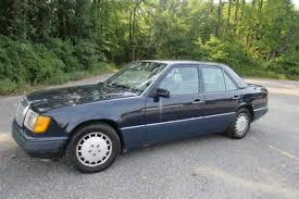 mercedes 300 turbo diesel mercedes 300 series sedan 1991 blue for sale