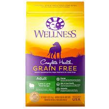 complete health grain free lamb u0026 lamb meal wellness pet food