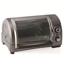 Oven And Toaster Hamilton Beach Easy Reach 4 Slice Toaster Oven U0026 Reviews Wayfair