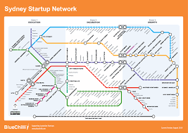 Sydney Subway Map by Aug2015 Startrail Maps For Sydney And Melbourne