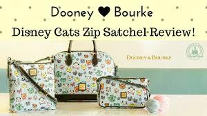 dooney u0026 bourke disney cats purse review youtube