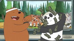 Money Meme - money shower we bare bears know your meme